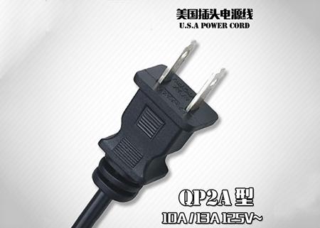 美标QP2A插头